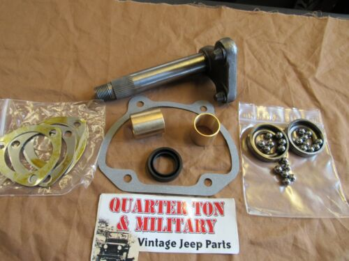"""ROSS 15//16/"""" Steering Box Sector Shaft kit 807478 fits Willys M38A1 M170 jeep"""