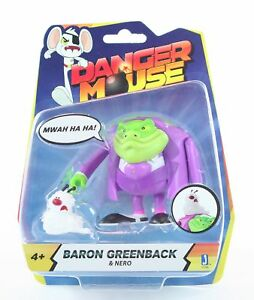 DANGER-MOUSE-toy-3-034-SILAS-GREENBACK-and-NERO-action-figure-dangermouse-CBBC-NEW