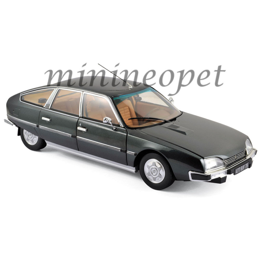 NOREV 181522 1976 CITROEN CX 2200 PALLAS 1 18 DIECAST MODEL CAR VULCAIN GREY