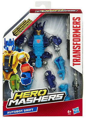Transformers Hero Mashers Autobot Drift Figure Hasbro A8403 Brand New Masher!