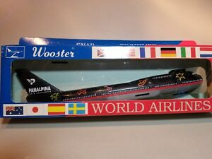 WOOSTER-W531-PANALPINA-ASB-747-400-1-250-SCALE-PLASTIC-SNAPFIT-MODEL