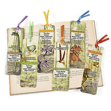 48 Laminated Dinosaur Bookmarks BIRTHDAY Party Favors T Rex Paleontologists