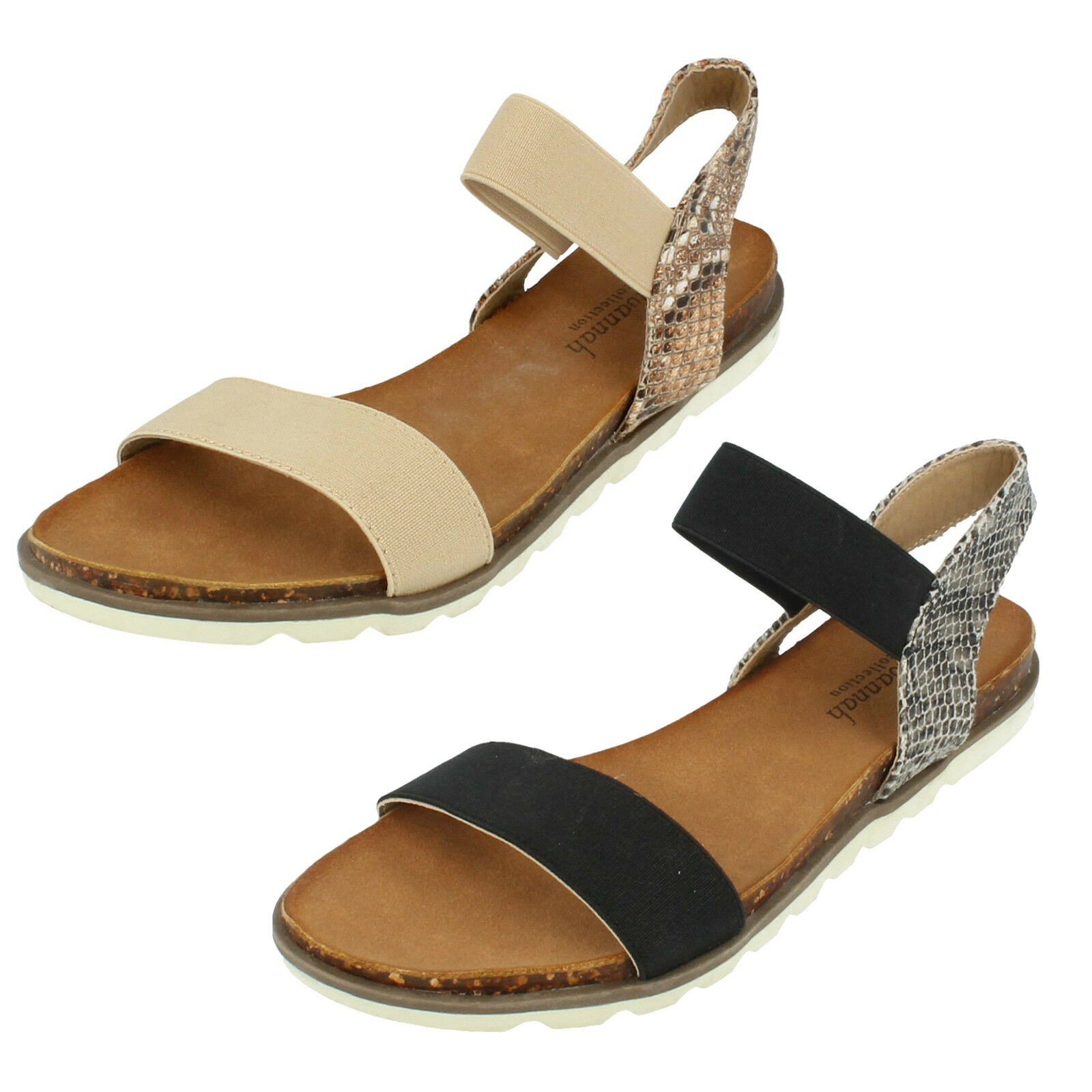 SALE Ladies By F0872 Open toe Sandal By Ladies Savannah Collection WAS NOW 808340