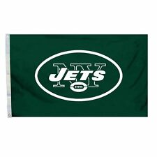 "New York Jets NFL Banner Flag 3' x 5' (36"" x 60"") ~ NEW"