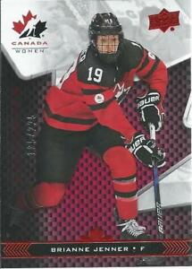2018-19-Upper-Deck-UD-Team-Canada-Juniors-BRIANNE-JENNER-81-Exclusives-225