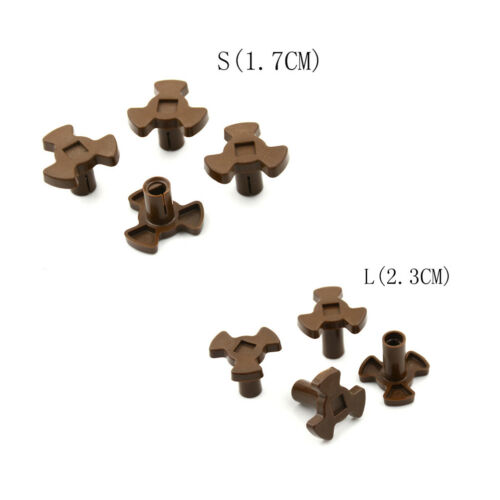 4x Microwave Oven Mica Plate Repair Part heat Resistance Turntable Coupler Fad