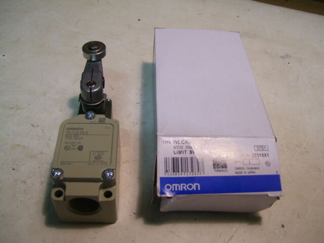 NIB OMRON WLCA2-2N-Q LIMIT SWITCH 10A/125-500VAC NO & NC P3984
