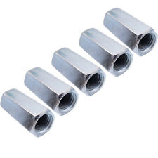 Us Stock 2pcs M16 X 2 X 49mm Long Rod Coupling Hex Nut Connector Zinc Plated