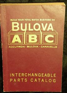 1963 Bulova ABC Interchangeable Parts Catalog Accutron Bulova Caravelle See Me
