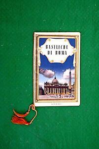 BASILICHE-DI-ROMA-CALENDARIETTO-ANNO-SANTO-1950