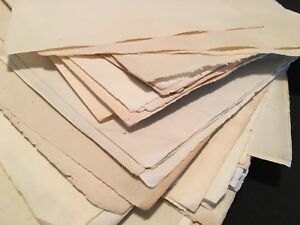 BLANK RESTORATION PAPER 1800s