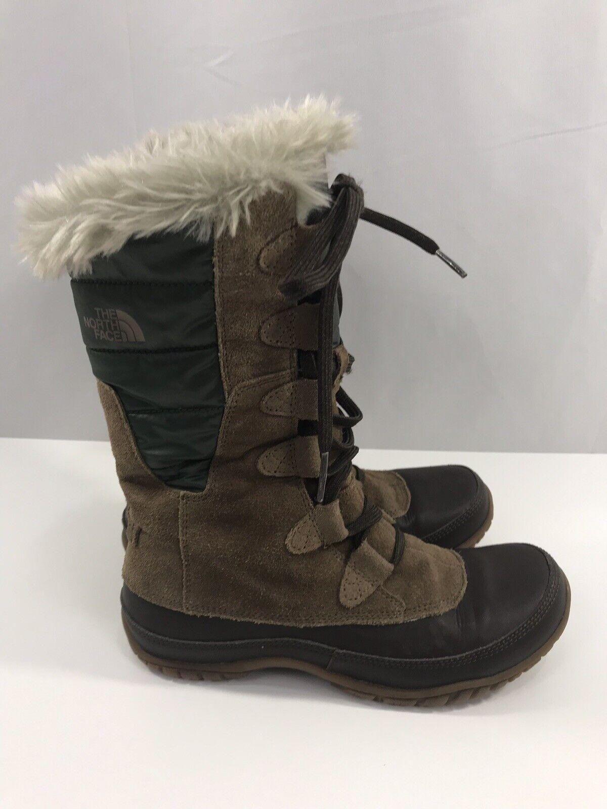 The North Face Winter Boots Nuptse Purna 200 gram Primaloft Women's SZ 6