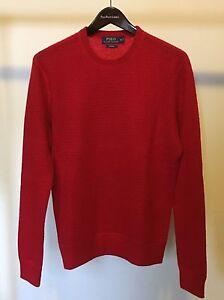Details about Polo Ralph Lauren Men's Waffle Knit Cashmere Sweater