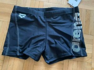 TOP Badehose Boxershorts ARENA Maxfit Gr.  4 schwarz NEU + Etikett