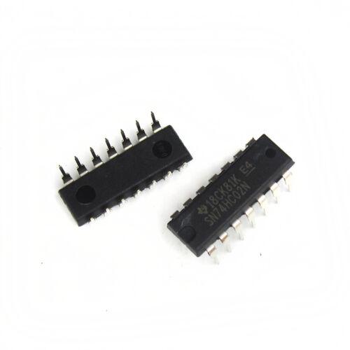 5//10//50PCS SN74HC02N TI IC GATE NOR 4CH 2-INP 14-DIP GOOD QUALIT wholesale