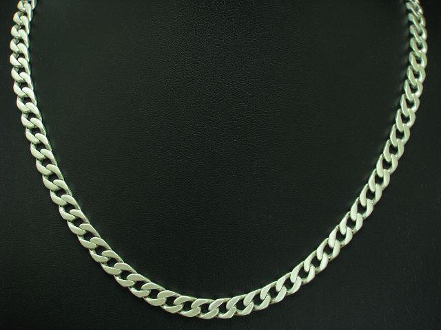 925 STERLING silver PANZERKETTE   ECHTsilver   50,4 cm   29,8 g