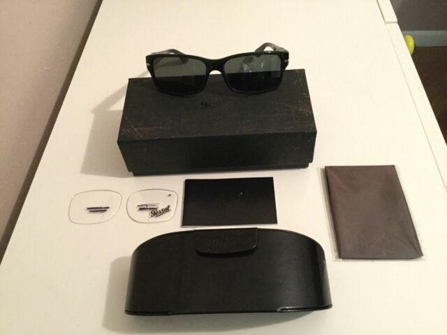 Persol PO 2803-S 95//58 Black Polarized Sunglasses 2803S 58mm