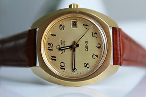 CERTINA-DS-2-Automatic-20M-Gold-NOS-1969-great-dial