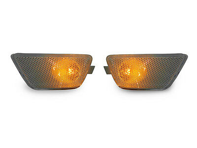 DEPO 2011-15 CHEVY CRUZE EURO CLEAR FRONT LEFT + RIGHT BUMPER SIDE MARKER LIGHT