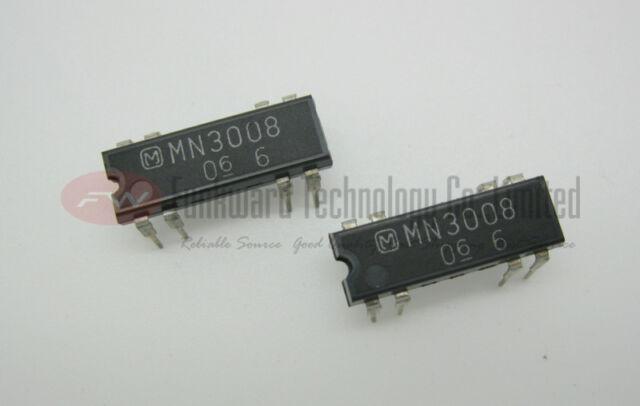 1pcs MN3209 Panasonic Mitsubishi 256-Stage Low Noise BBD IC DIP-8