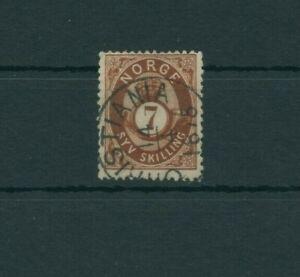 Norvege-1872-Mi-21-Timbres-Used-Plus-Boutique
