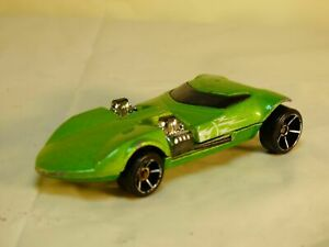 Vintage-Matell-HOT-WHEELS-1969-Twin-Mill-Green-Hot-Rod-Concept-Car-Toy-Raro