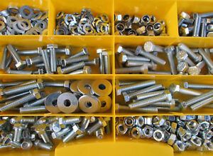 Sortiment-Linsenschrauben 2 mm DIN 7985 M2  Edelstahl 500 Teile