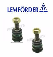 2 Lemforder Left+right Front Lower Ball Joints Arm Mid Section For Mercedes