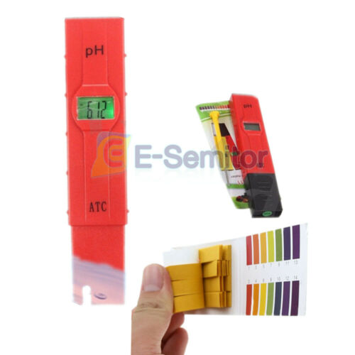 4 in 1 TDS//EC//PH//TEMP Meter LCD Digital Water Quality Monitor Tester Purity Pen