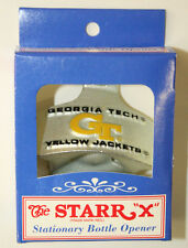 WHOLESALE LOT OF 10 GT GEORGIA TECH Wall Mount Starr X Stationary Bottle Opener