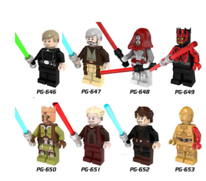 STAR WAR Stormtrooper Sith Jedie Knight /& weapons 21 Pcs Minifigures lego MOC