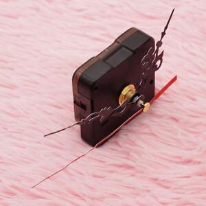 5x-Wanduhr-Quarz-Uhrwerk-Mechanismus-Reparatur-Set-Diy-Haende-Kit-Schwarz-Te-Q1Y5