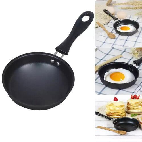 Non-stick Frying Pan Pancake Small Fryer Round Mini Saucepan Kitchen Cookware UK