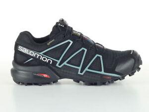 Salomon Speedcross 4 GTX W Scarpe da Trail Running Donna Nero ... 9dad96f84e2