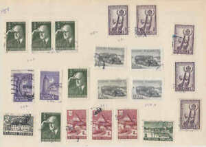 FINLAND-SPECIALIST-CANCELS-COLLECTION-LOT-1940s-1950s-7-SCANS