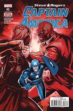 STEVE ROGERS CAPTAIN AMERICA #3 1ST PRINTING!! 2016 MARVEL COMICS!-TRADER!