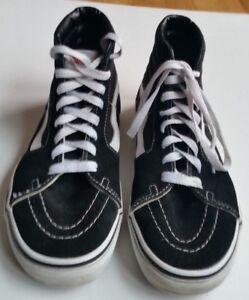 6c75e249e0 Vans Old Skool SK8 Black White High Tops Trainers - UK 5, EU 38 | eBay