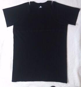c4d7c91ee79 Image is loading Vintage-Adidas-Stretch-Black-Dress-Cold-Shoulder-Women-