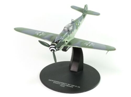 ATLAS 1/72 WWII FIGHTER LUFTWAFFE MESSERSCHMITT BF109 G-10 ERICH HARTMANN 1945