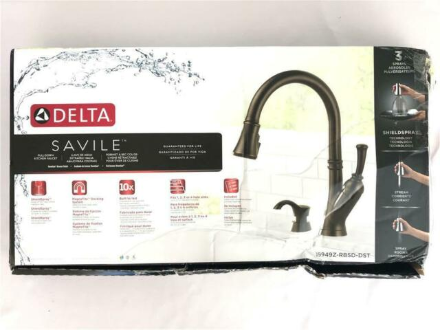 Delta Savile 19949z Rbsd Dst Kitchen Faucet Touch On Kitchen Sink Faucets