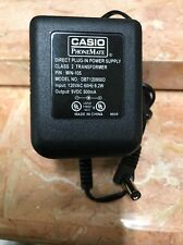 Original DBT120950D AC Power Supply Adapter 9V DC 500mA Charger for Casio Phone