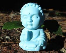 Blue Pocket Buddha - Harmony Saying - Buddhism Figurine Toy Statue