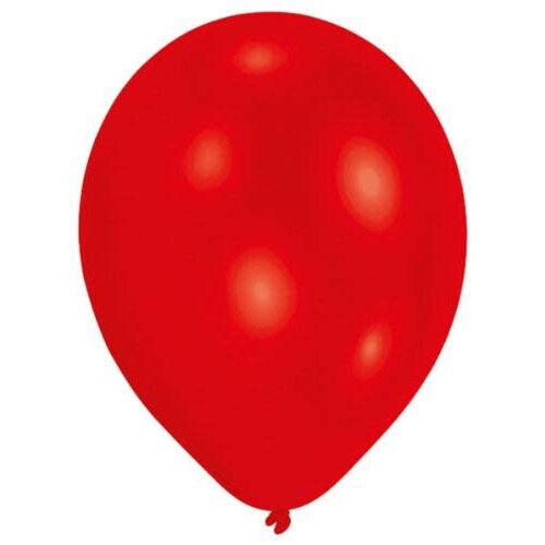 Métallique Rouge Latex Ballon Amscan 10