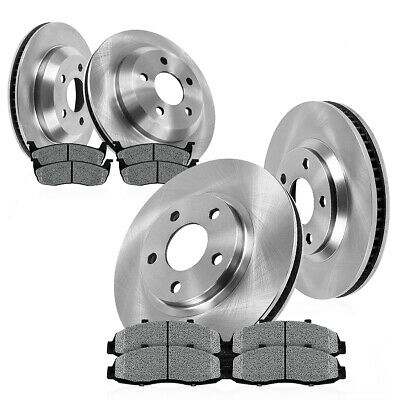 2006 2007 for Chevrolet Monte Carlo Front /& Rear Brake Rotors and Pads
