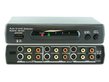4x2 4:2 S-Video SVHS with Audio Automatic Auto Selector Switcher Splitter SB5425