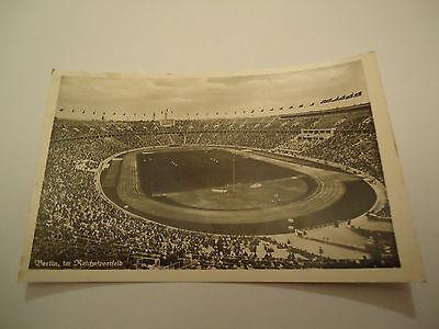 Olympics German Reich Olimpics Stadium Berlin Klinke&co B511 Photo Card Propaganda 30/40s