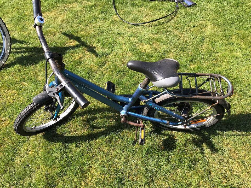 Unisex børnecykel, classic cykel, 16 tommer hjul