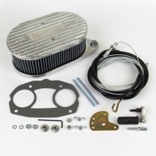 Weber IDF /& DELLORTO DELLORTO CARBURATORE FILTRO ARIA Throttle Linkage KIT . Combo
