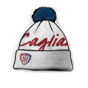 Herren-accessoires Kleidung & Accessoires KöStlich Cagliari Fußball Hut Weiß Mit Pon Pon Geschrieben Und Wappen Bestickt Klar Und GroßArtig In Der Art