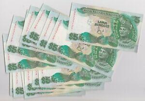 Mazuma *M1360 Malaysia 6th $5 PA5235121-139 19 Running